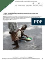 Covid-19_ l'épidémie pourrait plonger 100millions de personnes dans l'extrême pauvreté