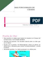 PRUEBAS FUNCIONALES DE CADERA