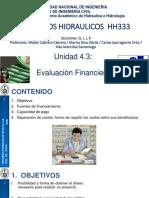 Evalución financiera