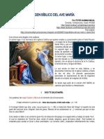 ORIGEN BÍBLICO DEL AVE MARÍA