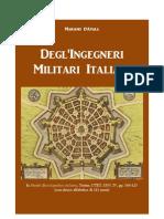 D'AYALA Mariano. Italian Military Engineers. Turin 1855