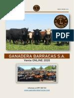 Catalogo Ganadera Barracas 2020