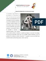 Guion- Sexualidad en personas con discapacidad
