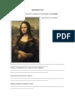 Ejercicios para propiciar la apreciación artística.doc
