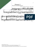 Minuet I (Andantino) - Handel