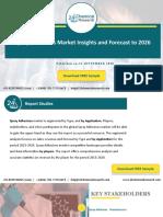 Spray Adhesives Market Insights and Forecast to 2026