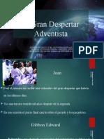 Diaposivas de la Historia Del despertar Adventista