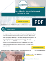 Two Component Adhesive Market Insights and Forecast to 2026