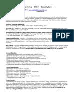 ap psychology syllabus 2020