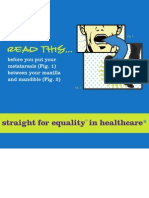 Straight for Equality in Healthcare
