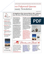 Red River Pulpwood Queens January Newsletter-  2011