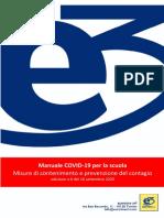 Manuale Covid 19 - Misure di contenimento e prevenzione del contagio - rev.6 20200916-signed