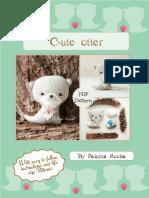 Cute otter pattern