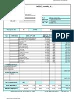 Presupuesto1  Productos Farmaceuticos