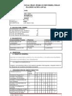 Planificación  Anual 8vo Compu