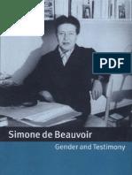 Simone de Beauvoir, Gender and Testimony-0521661307