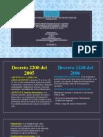 diapositivaParalelo entre Dec. 2300 y Dec. 2330 de 2006 - Vídeo Presentación...