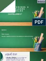 Castellano 2° S6 P1