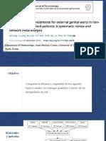 Dermatología- Topical treatments for genital warts
