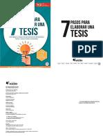 Los 7 pasos para elaborar una Tesis.pdf