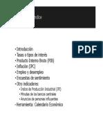 2.1.2 Estructura de los Indicadores Economicos