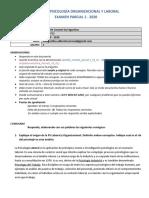 PARCIAL 1 - GRUPO 1- 2020 online