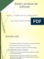 ISW2- Gestion de la configuración