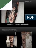Eustiquio Lugo - tatuajes antebrazo hombres