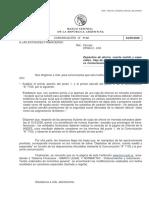 Comunicación a 7112 Transferencias de Dólares Entre Cuentas
