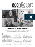 The Chalcedon Report Apr 20 Newsletter