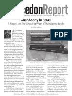 The Chalcedon Report Oct 20 Newsletter