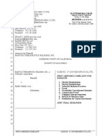 Mabvax v Barry Honig First_Amended_Complaint_Aug 28 2020