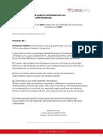 MANIFESTAÇÃO SOBRE QUESITO APRESENTADO AO PERITO-  IMPERTINENTES (1)