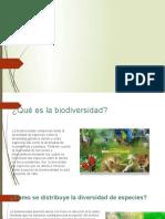 Biodiversidad  y cambio climatico