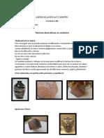 tecnicas decorativas ceramica III