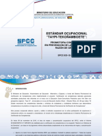 Estandar Técnico de Promotora Comunitaria en PVRG