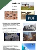 Usos y Aplicaciones de los drones