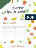 CONCEPTUALIZACIÓN  CONTROL -  CLASE 1