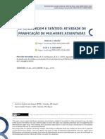 2019_PAIXAO_NOGUEIRA_APRENDIZAGEM E SENTIDO- ATIVIDADE DE PANIFICAÇÃO DE MULHERES ASSENTADAS