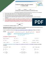 modulo de autoaprendizaje de algebra 1° medios