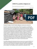 clacso.org-Medidas por el COVID-19 y pueblos indígenas en América Latina