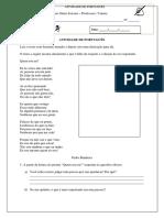 Atividade de Português - Vanuza
