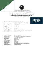 Cinnamon Leaf CofA GC 021219-1