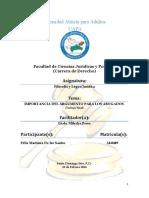 IMPORTANCIA DEL ARGUMENTO PARA LOS ABOGADOS (Final)