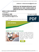 Gmail - AMS Informa_ Plataforma de Teleatendimento Para Credenciados _ Ampliação Da Rede Credenciada Na Regão Sul _ Importância de Bons Relacionamentos Para a Vida Saudável