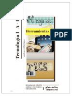 cuadernillo de tecnologia  1 1°A-D
