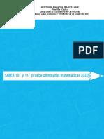 10° y 11°  PRUEBA DE OLIMPIADAS 2020.pdf