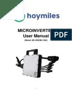 Microinverter Hoymiles MI-1200
