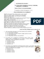 FORMACION 2 - LA FORMACIÓN CÍVICA Y ÉTICA Y LOS ADOLESCENTES