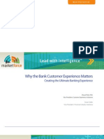 Market Force Creating the Ultimate Banking Experience White Paper